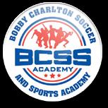 bobby Charlton soccer schools logo