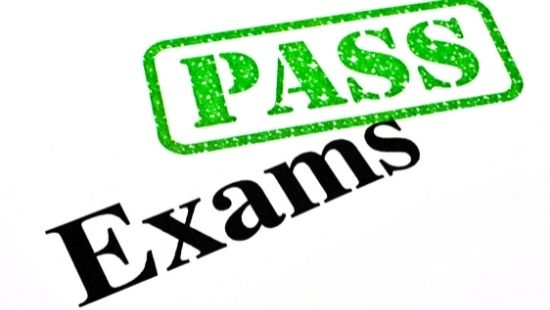 Pass stamp for exams