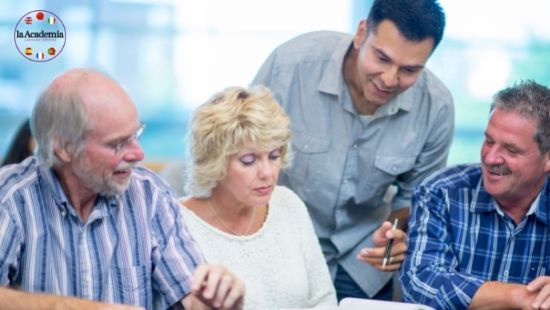 Language learning for the 50+ age group